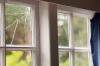 Замена стекла в деревянном окне Киев